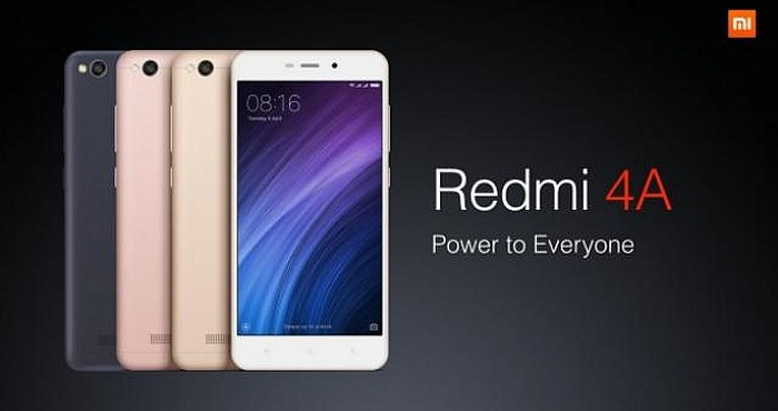 Xiaomi Redmi 4A Using 4G VoLTE Support Unveiled