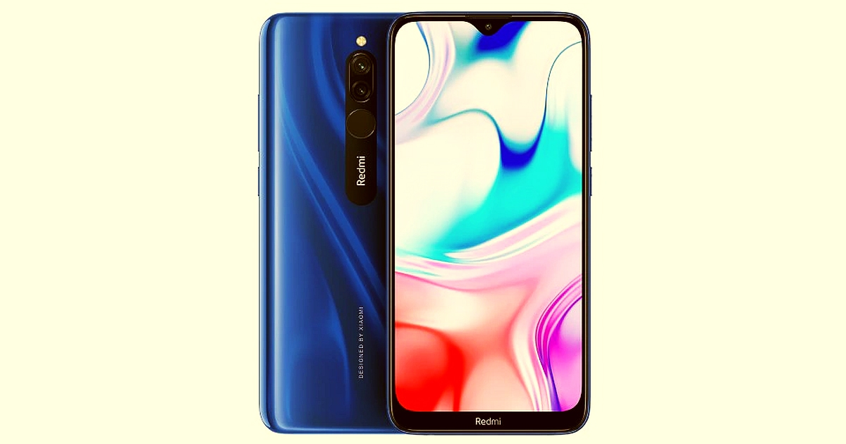 Xiaomi Redmi 8 6.22″ Screen and 5000 mAh battery